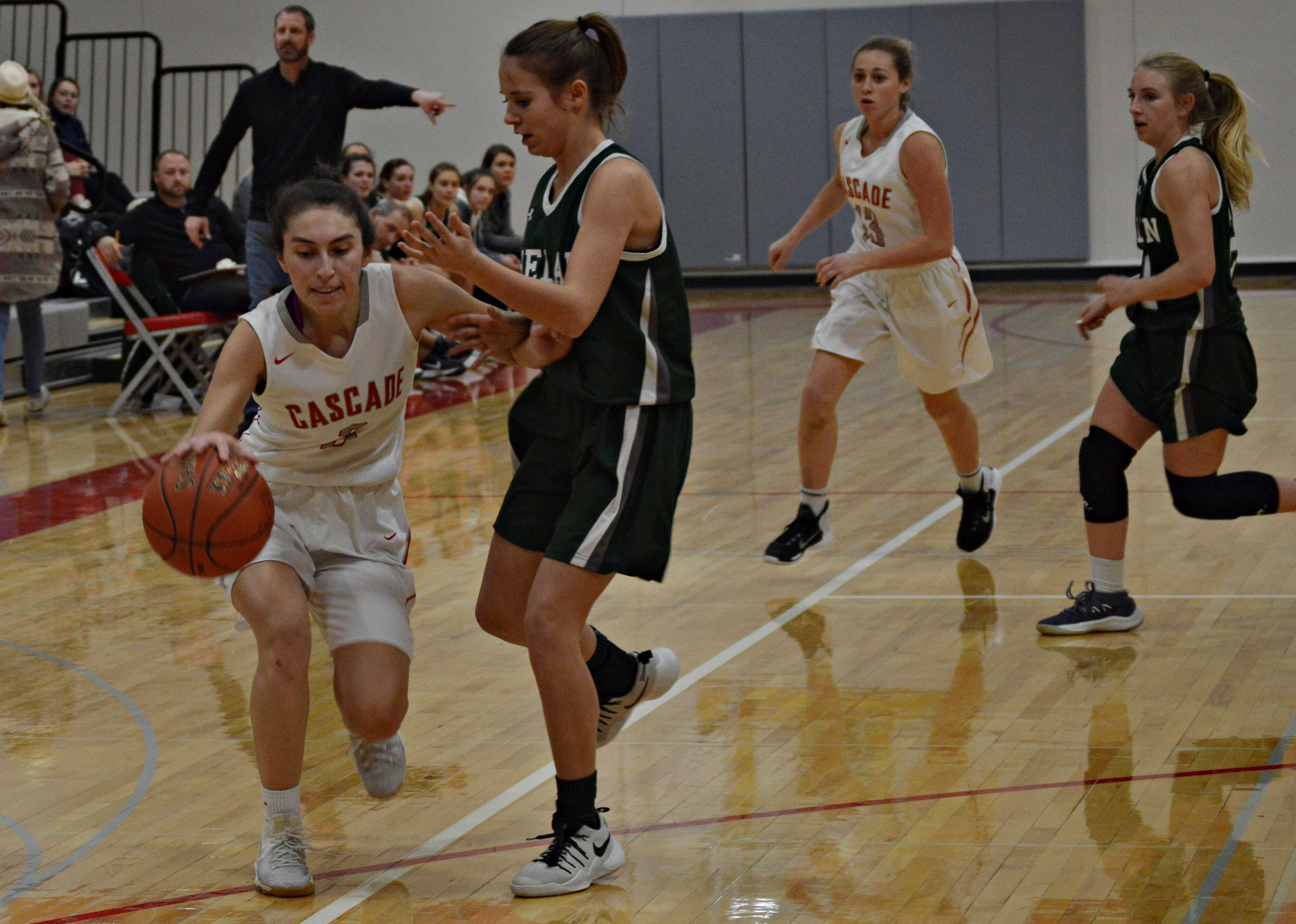 Dorothy Espionsa scored 10 points during the Jan. 23 game against Chelan..