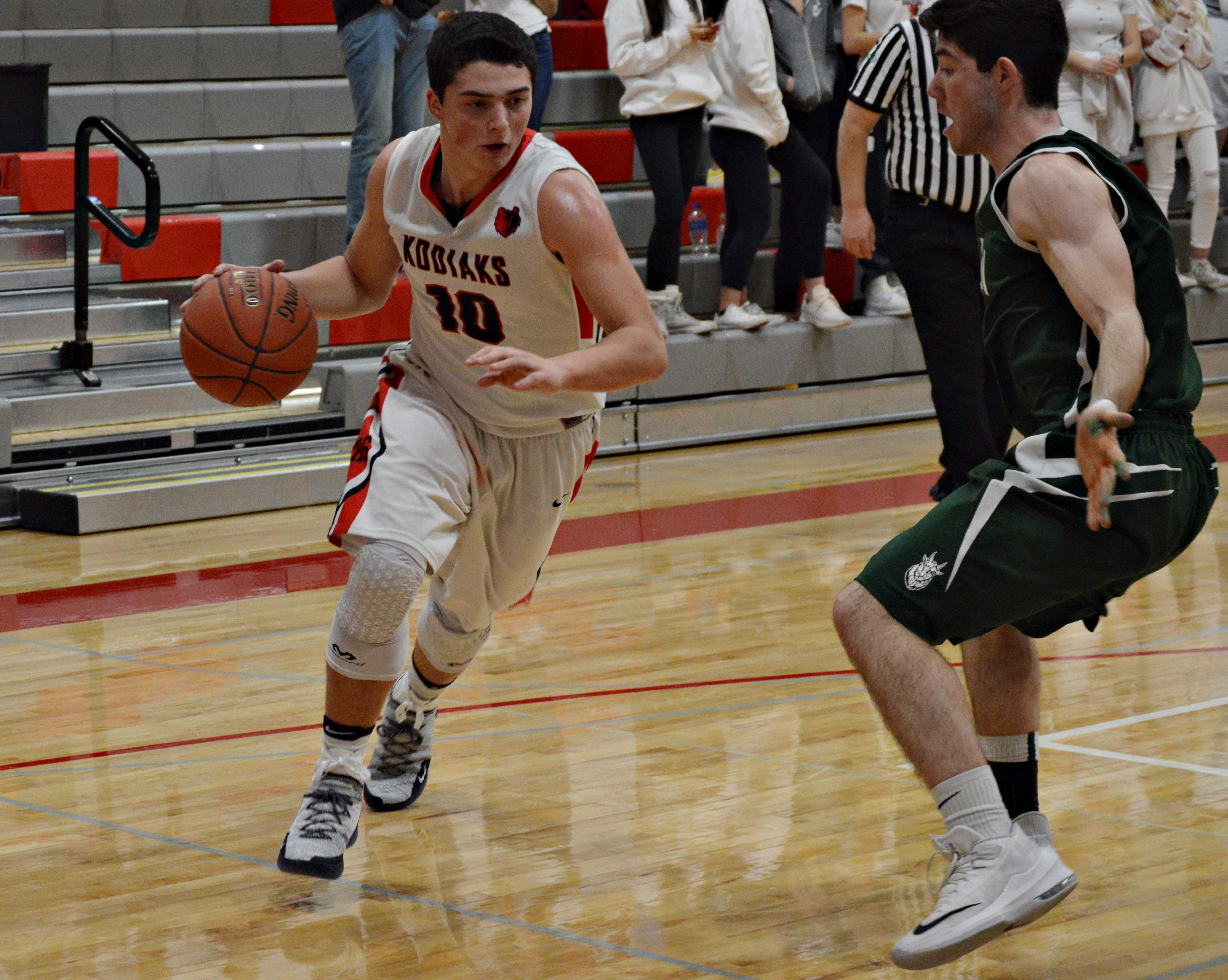Isaac Cortes scored 10 points, including eight in the second quarter.