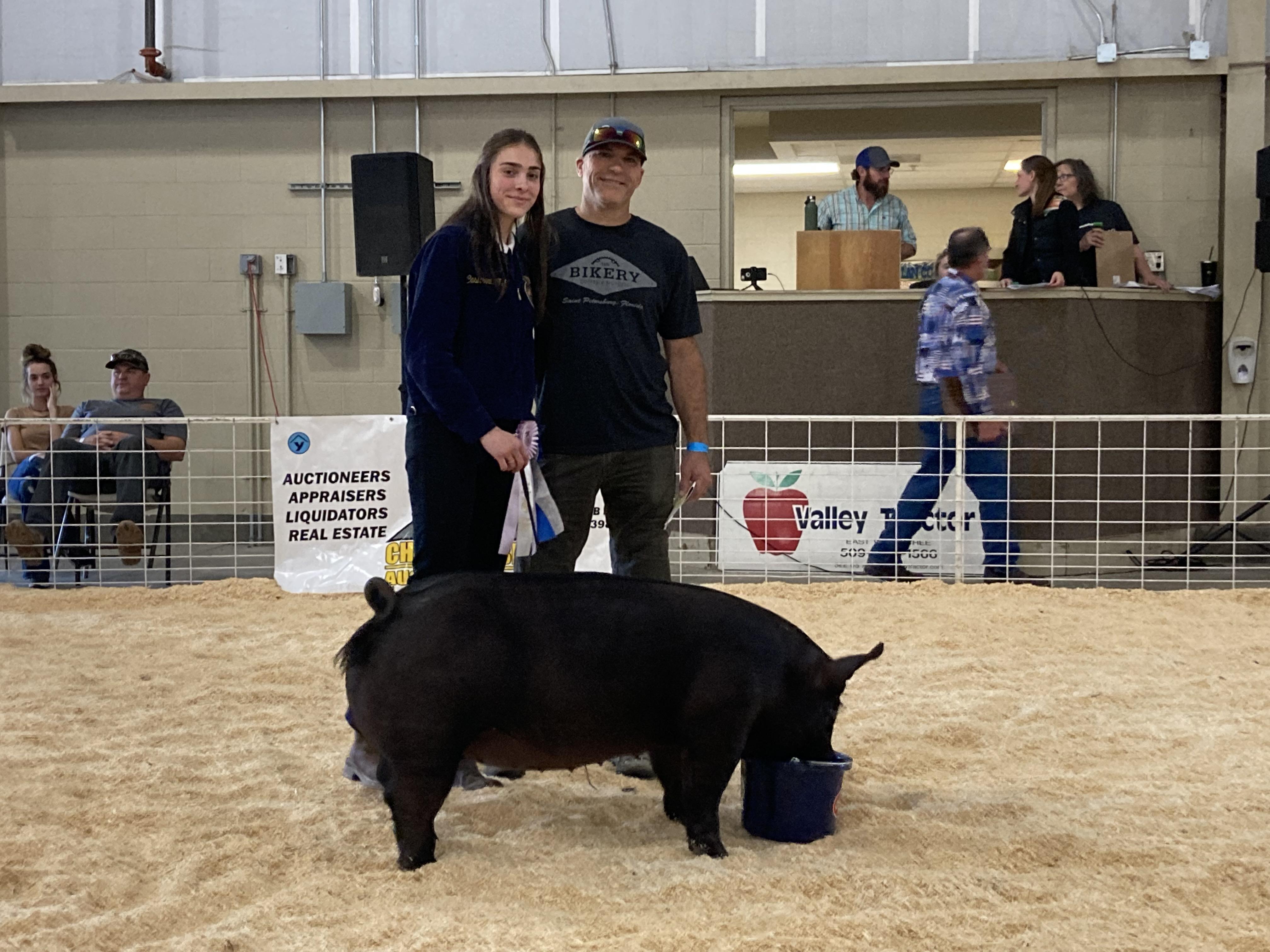 Jordan Holladay and the Hog